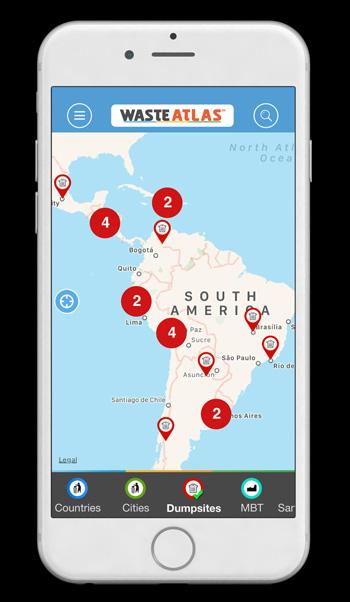 Waste Atlas app